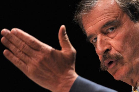 Vincente Fox, former president of Mexico